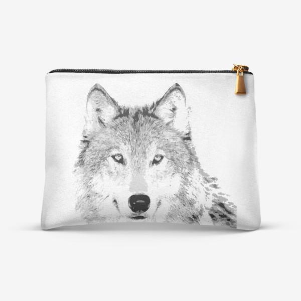 Косметичка «Паттерн Волк»