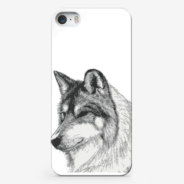 Чехол iPhone «Принт Волк»