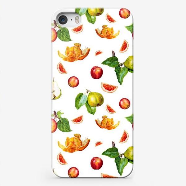 Чехол iPhone «Фрукты »