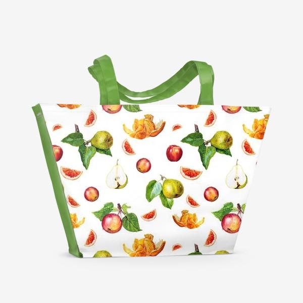 Пляжная сумка «Фрукты »