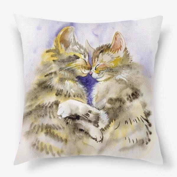 Подушка «Котообнимашки»