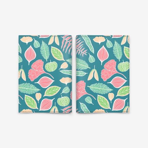 Обложка для паспорта «Sweet Jungle»