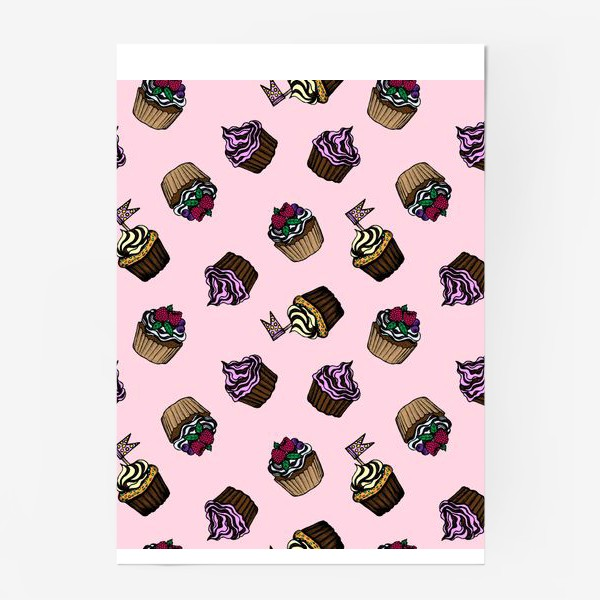 Постер «Desserts.Pink»