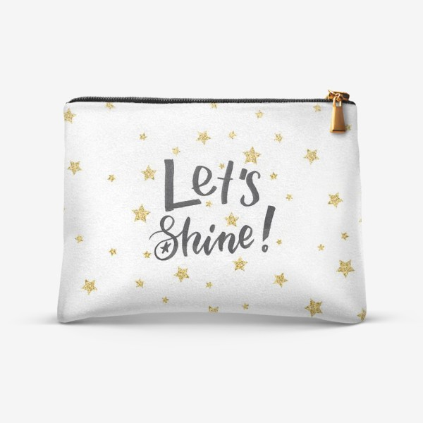 Косметичка «Let's shine!»
