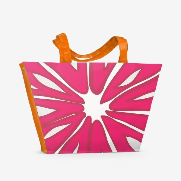 Пляжная сумка «Грейпфрут»