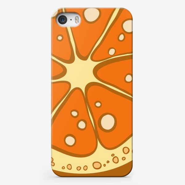 Чехол iPhone «Мандарин»