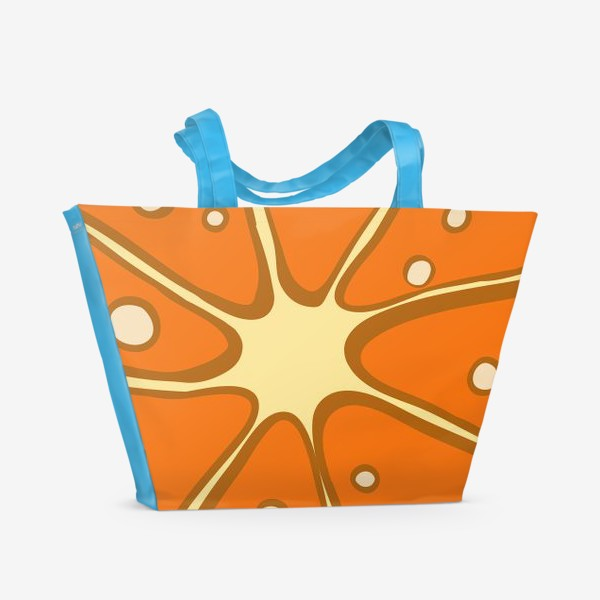 Пляжная сумка «Мандарин»