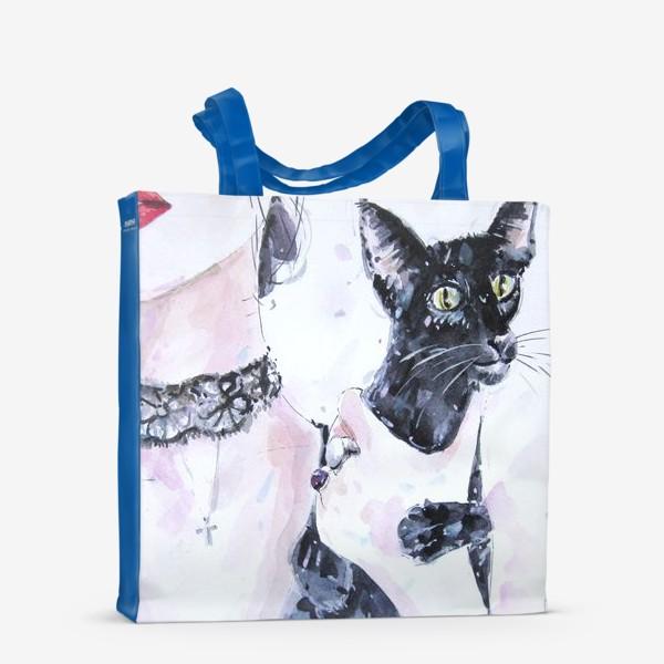 Сумка-шоппер «Кошка»