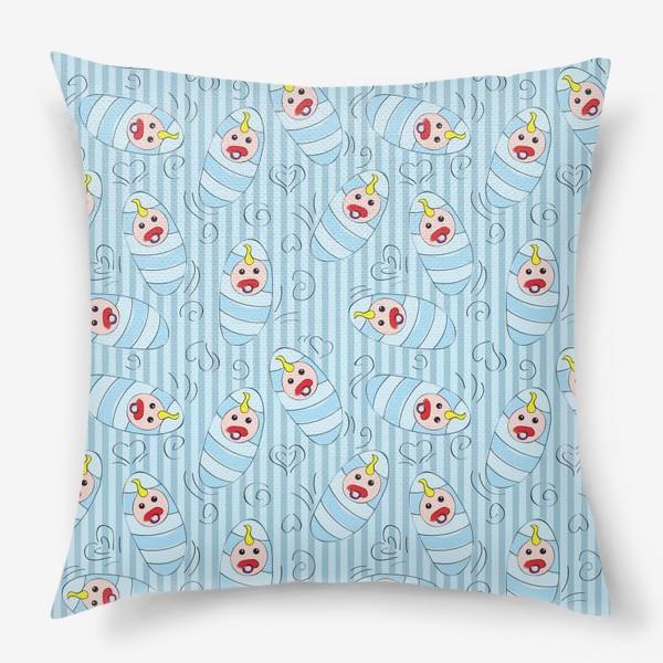 Подушка «Новорожденные - мальчик»