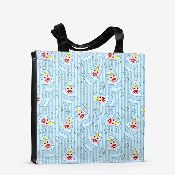 Сумка-шоппер «Новорожденные - мальчик»