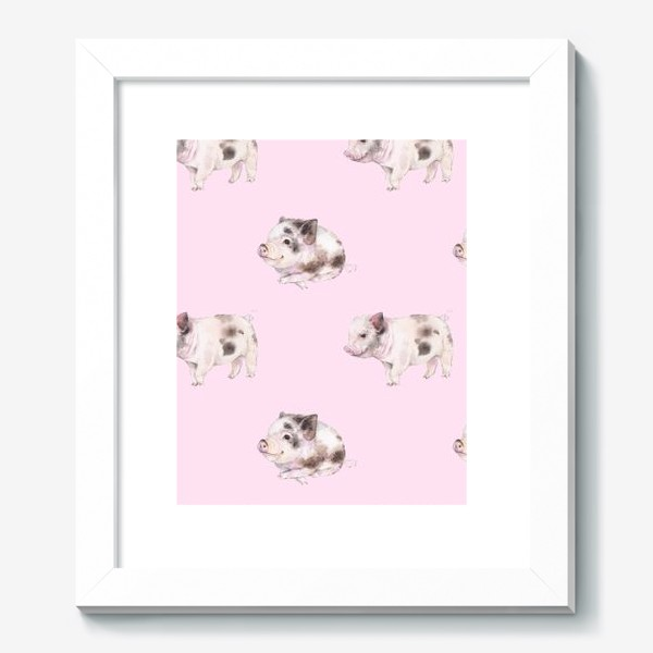 Картина «хрюши розовые»