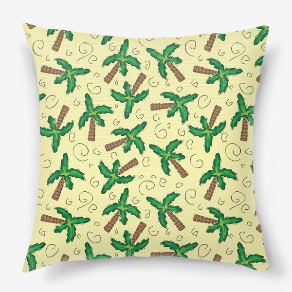 Подушка «Пальмы»