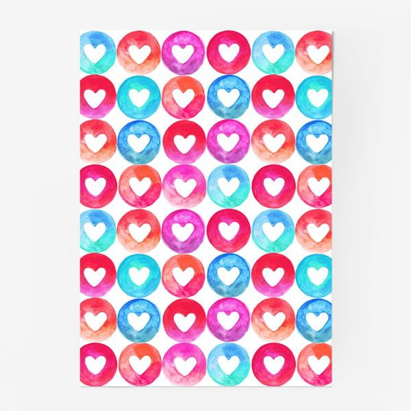 Постер «Heart pattern»