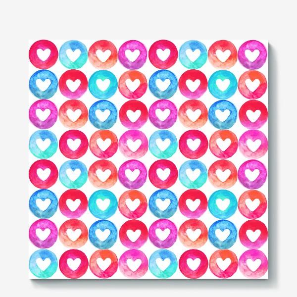 Холст «Heart pattern»
