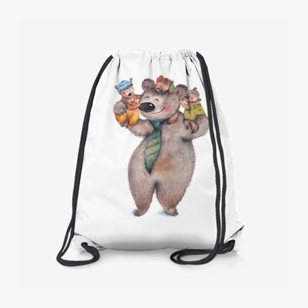 Рюкзак «Медвежата с папой»