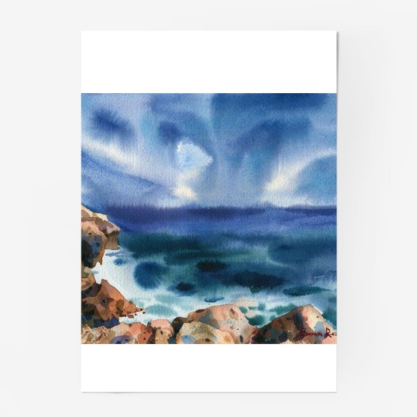 Постер «Только шум моря »