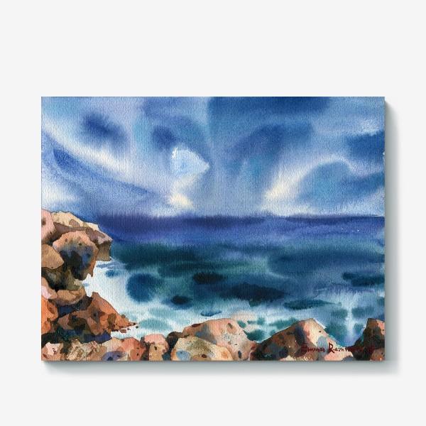 Холст «Только шум моря »