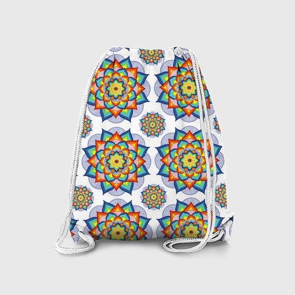 Рюкзак «Счастливая мандала»