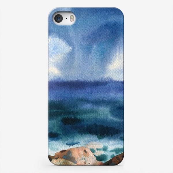 Чехол iPhone «Только шум моря »