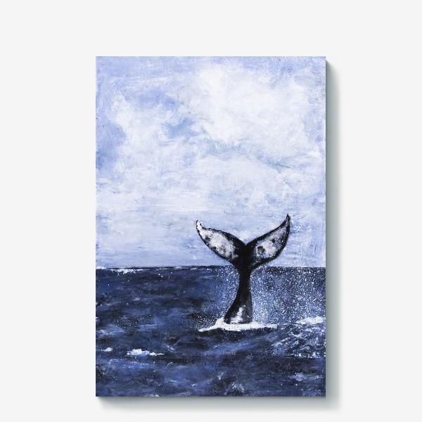 Холст «Хвост кита»