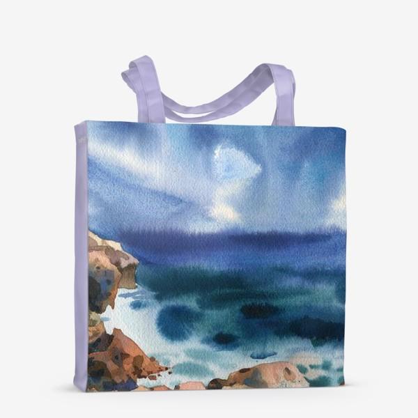Сумка-шоппер «Только шум моря »