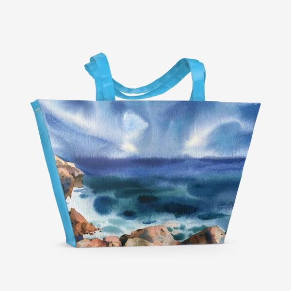Пляжная сумка «Только шум моря »