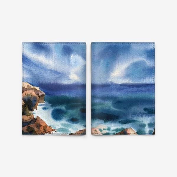 Обложка для паспорта «Только шум моря »
