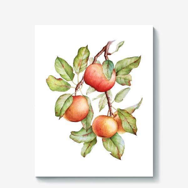 Холст «Ветка яблони»