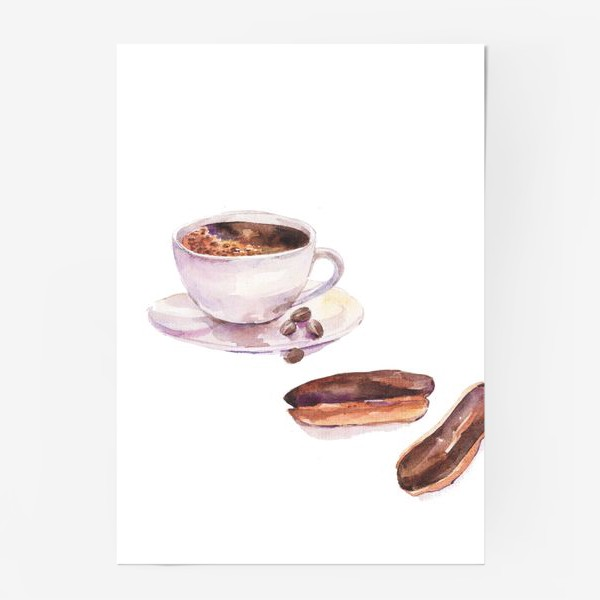 Постер «кофетайм»
