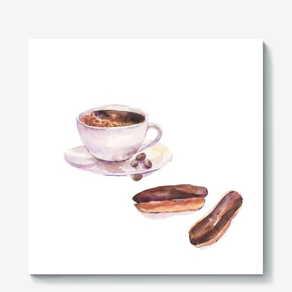 Холст «кофетайм»