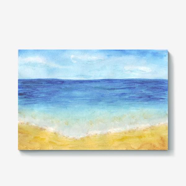 Холст «пляж»