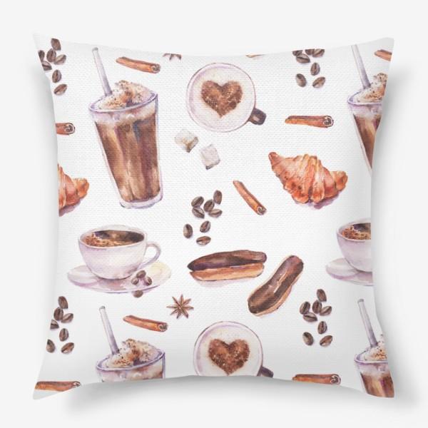Подушка «кофе»