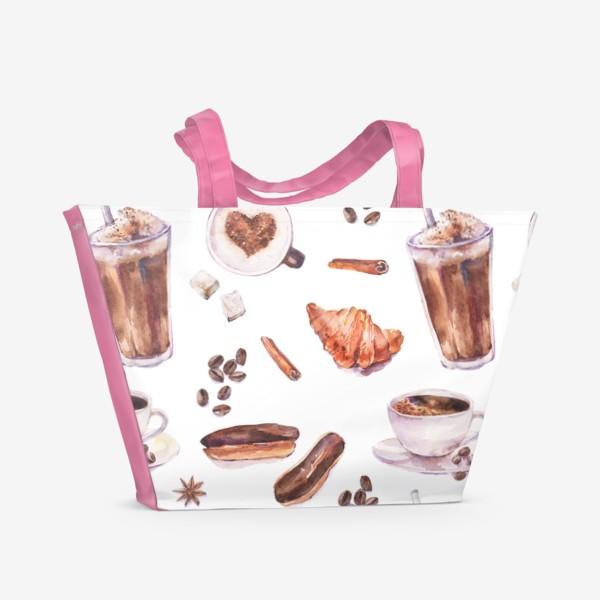 Пляжная сумка «кофе»