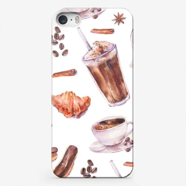 Чехол iPhone «кофе»