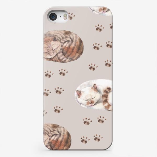 Чехол iPhone «котятки сладко спят»