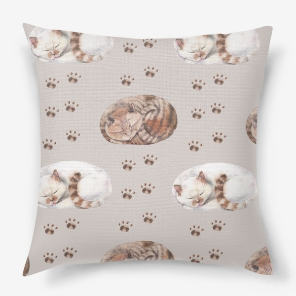 Подушка «котятки сладко спят»