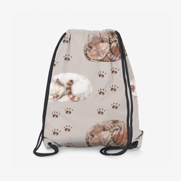 Рюкзак «котятки сладко спят»