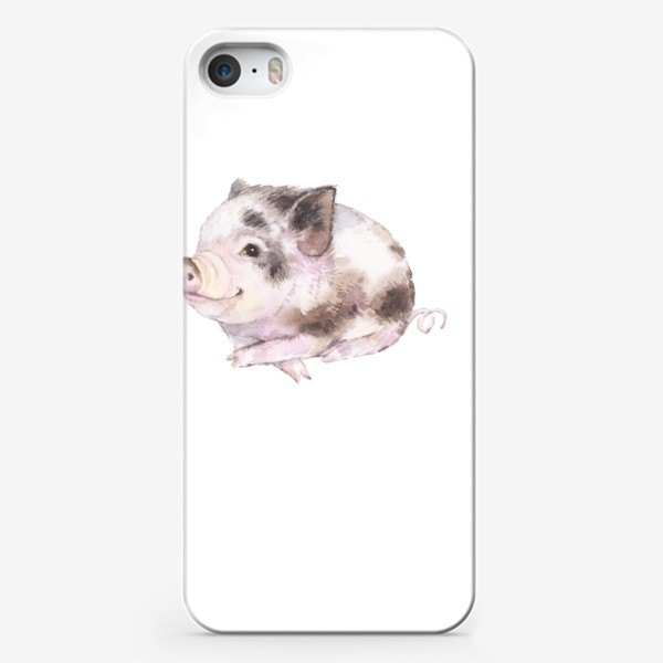 Чехол iPhone «Маленькая свинка 1»