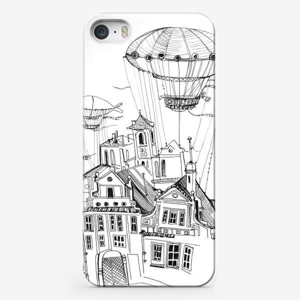 Чехол iPhone «Цепелиновый городок»