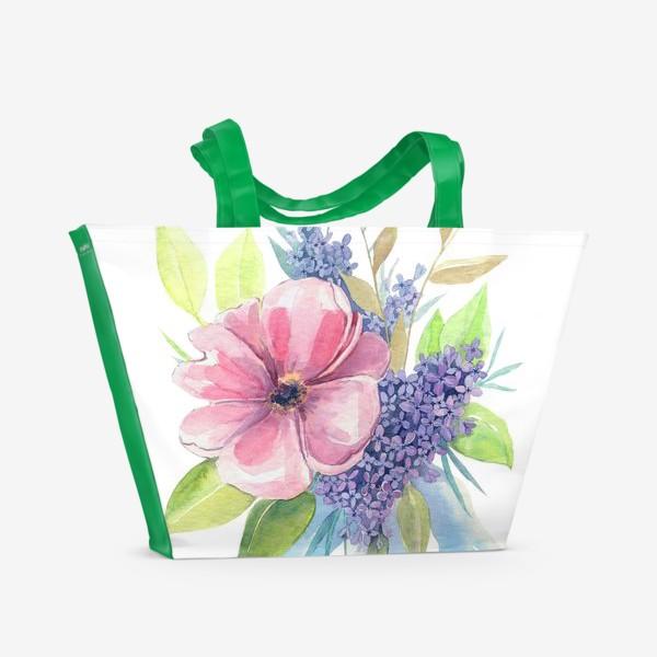 Пляжная сумка «весеннее настроение»