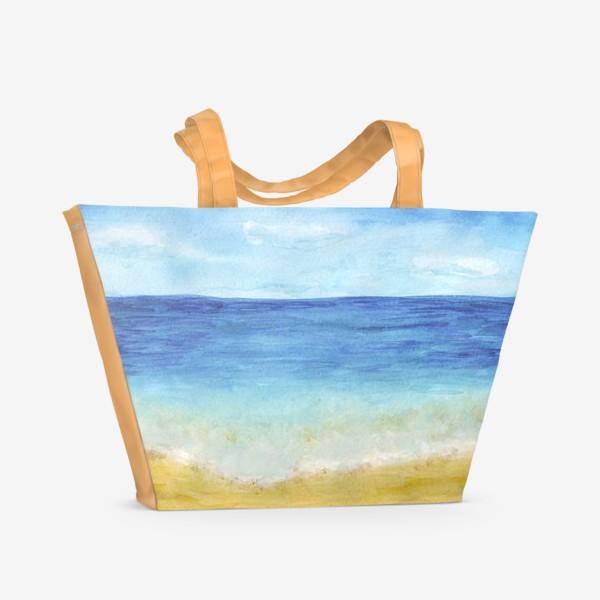 Пляжная сумка «пляж»