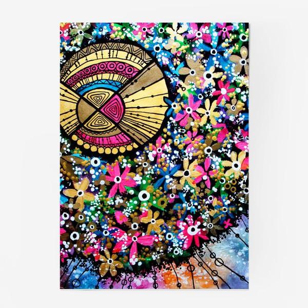 Постер «Солнце и цветы»