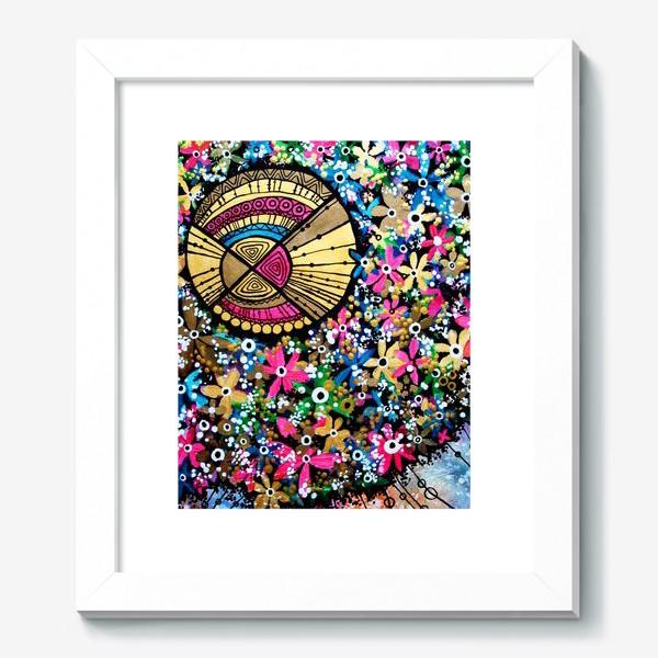 Картина «Солнце и цветы»