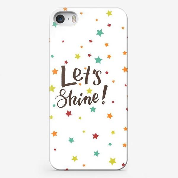 Чехол iPhone «Давай сиять»