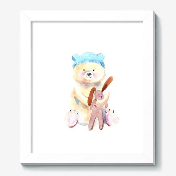 Картина «Мишка с зайкой»