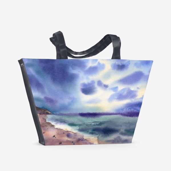 Пляжная сумка «Перед грозой»