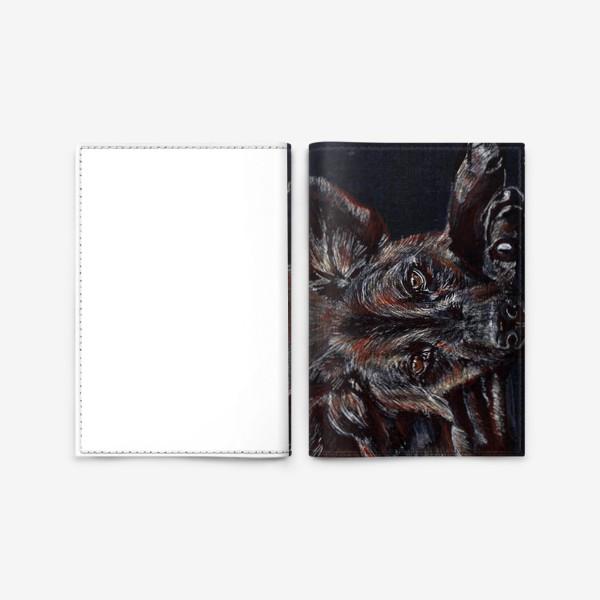 Обложка для паспорта «гиена»