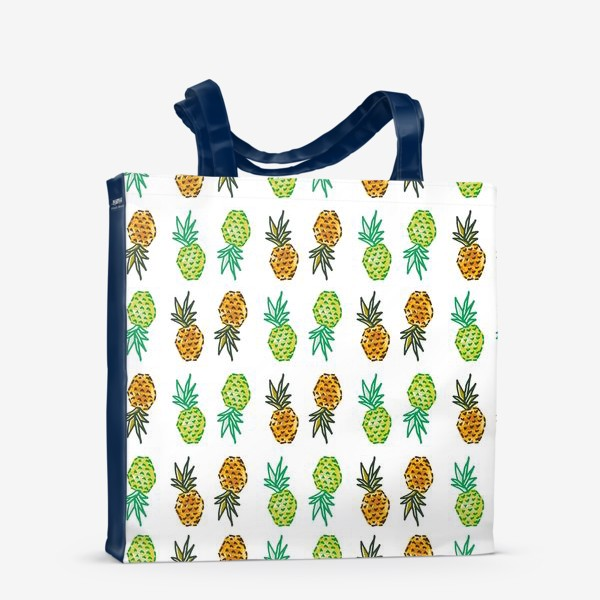 Сумка-шоппер «Паттерн Ананасы | Pineapples pattern»