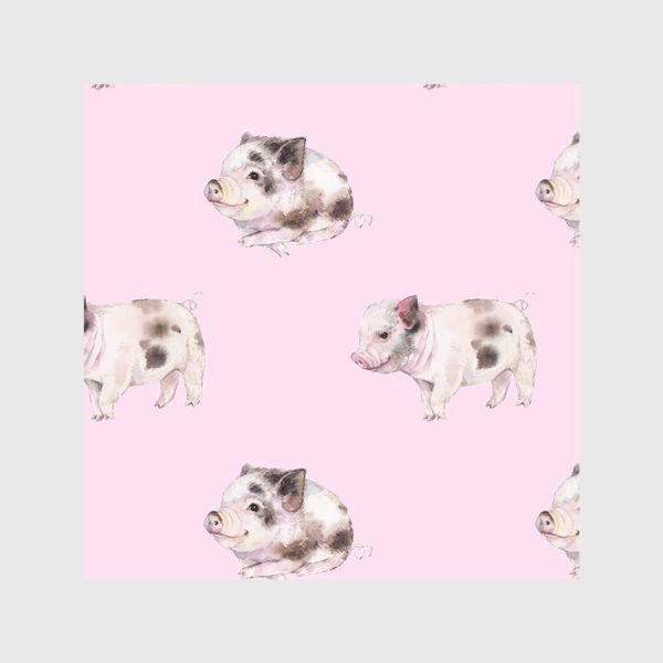 Шторы «хрюши розовые»