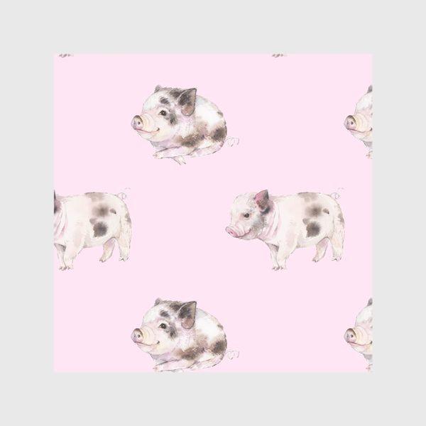 Скатерть «хрюши розовые»
